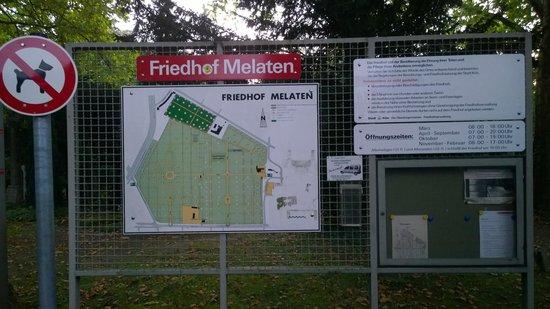 Melaten-Friedhof: Map