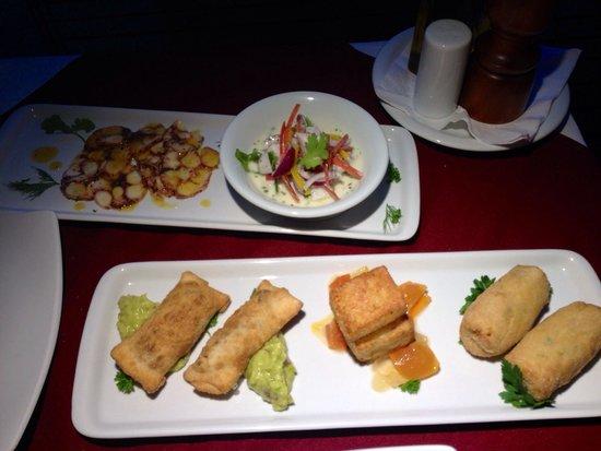 Mistico Sunset Lounge & Restaurant : Mix de tapas