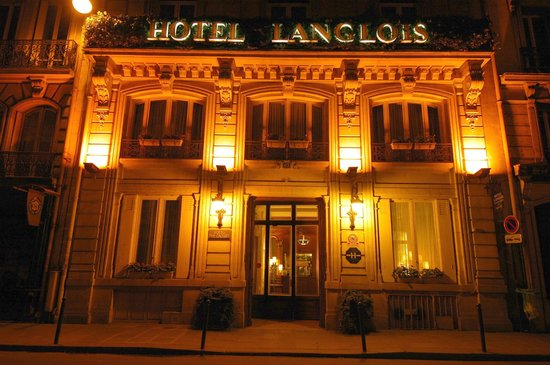 Hotel Langlois: Hotel front