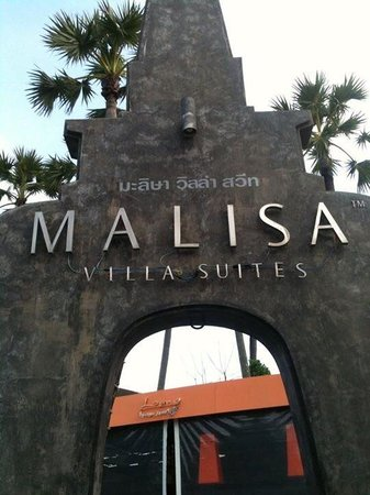 Malisa Villa Suites: Main entrance