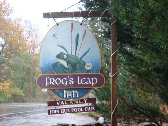 Frog's Leap Inn: First impressions count!