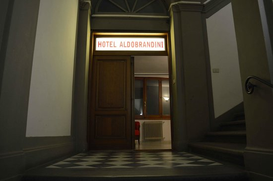 Hotel Aldobrandini: From the lift level