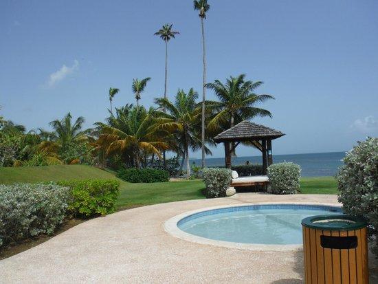 Beach side of the pool picture of gran melia golf resort for Gran melia hotel