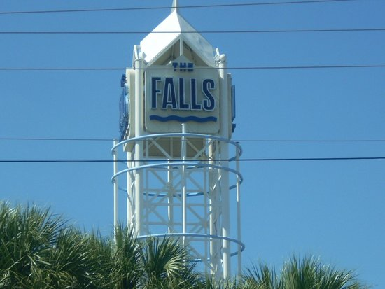 The Falls Shopping Center : Entrance Sign