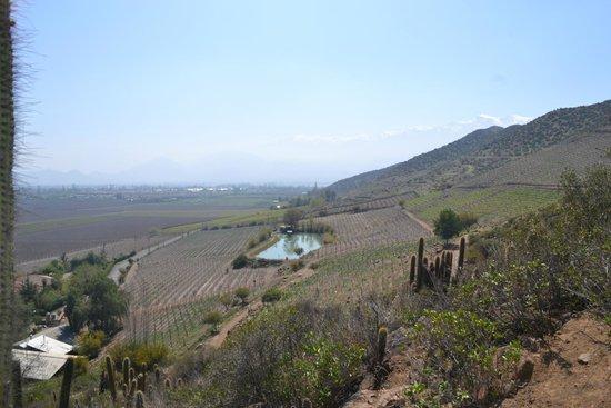 Parque Arqueológico Paidahuén: Vista desde la cumbre