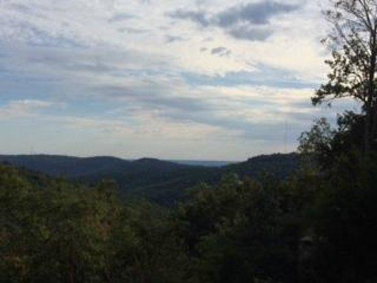 Monte Sano State Park : Beautiful mountain views