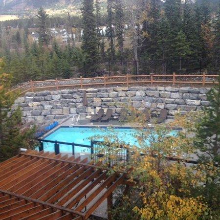 Blackstone Mountain Lodge : Pool view