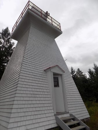 Crawford Bay, Canada: lighthouse