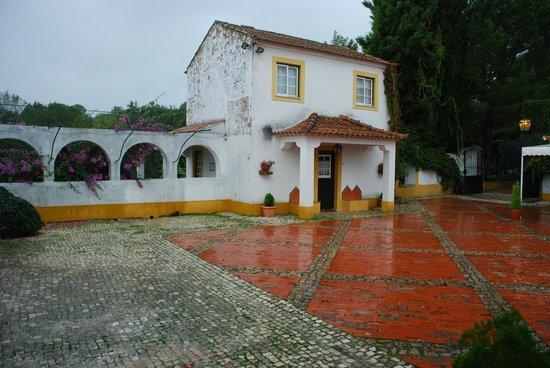Quinta da Anunciada Velha: Cour intérieur de la quintas