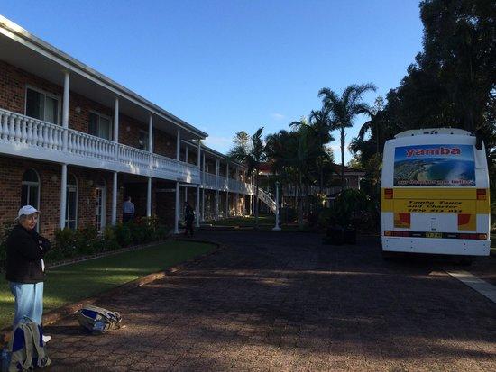 Yamba Tours: Going on tour