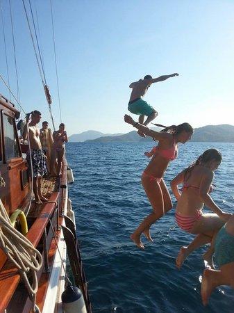 Gocek Lila Boat: On gulet gunay 1 fantastic max 12 people real sailing