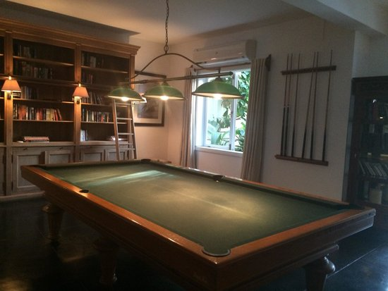 20 Degres Sud Hotel: Pool table