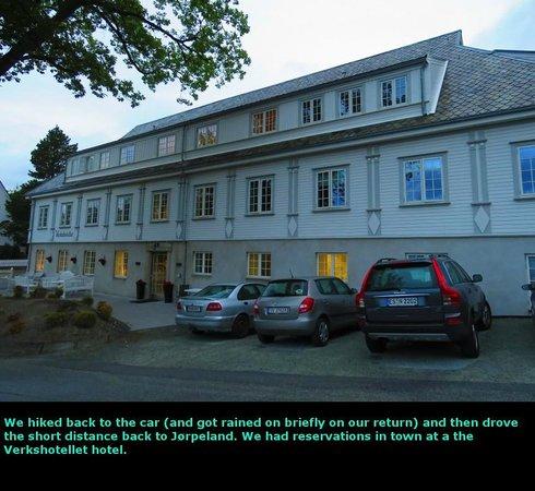 Verkshotellet: Exterior of the hotel