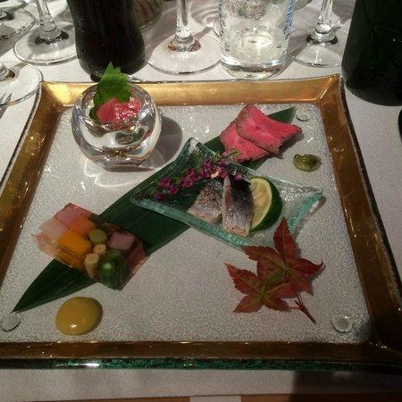 With the Style Fukuoka: 年配にも食べやすく好評の前菜の盛り合わせ