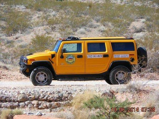 Desert Fox Hummer Tours: Our Cool Ride