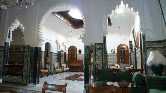 Riad Dar Achaach: prachtige binnenruimte