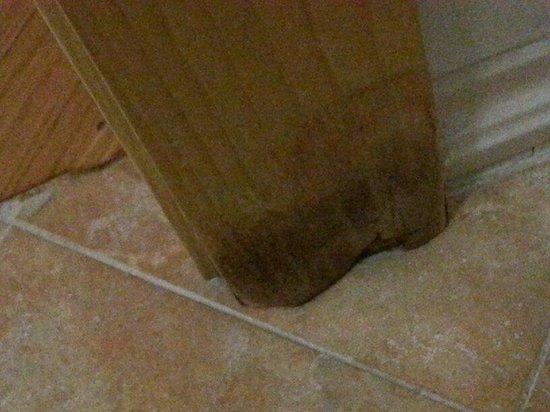 Hotel Oxford: Mould in bathroom