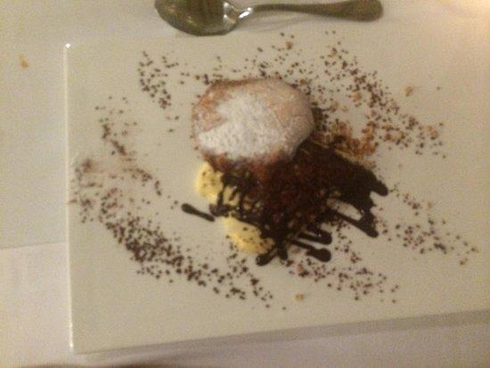 Infinit Restaurant: Crep de crema y choco