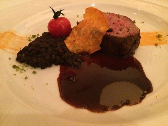 Hotel Schweizerhof : Kreation aus der Küche