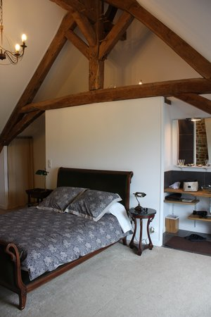Juilley, Francia: la nostra camera all'ultimo piano