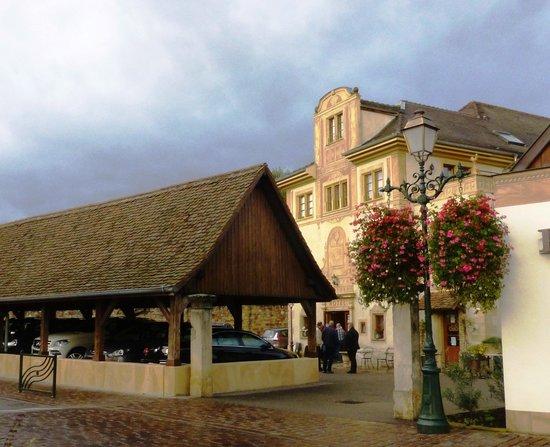 Hostellerie a la Ville de Lyon : L'hôtel A la Ville de Lyon