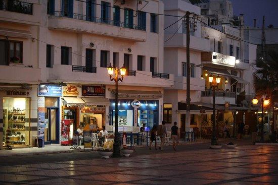 Hotel Despina : Naxos порт