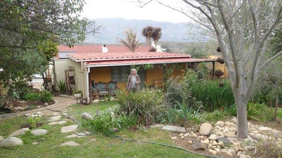 Tradouw Guesthouse: chambre sur le jardin