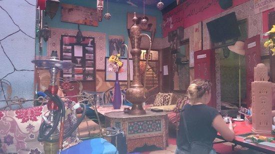 Hostel Riad Marrakech Rouge : Communal area