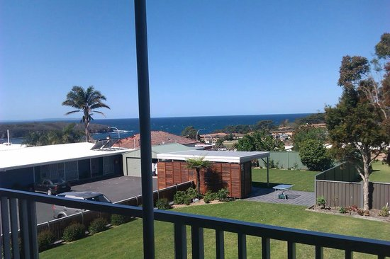 Harbour View Serviced Apartments: The view from Studio 10