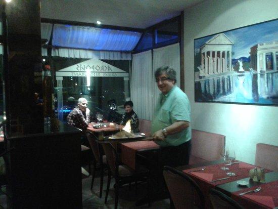Brochette mix foto van restaurant acropolis oostende for Acropolis cuisine