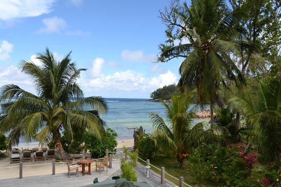 Crown Beach Hotel: Vistas desde nuestra terraza