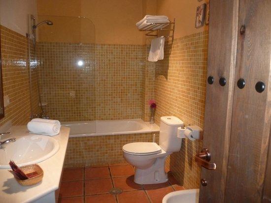 Hotel Plaza de Toros de Almaden: Baño