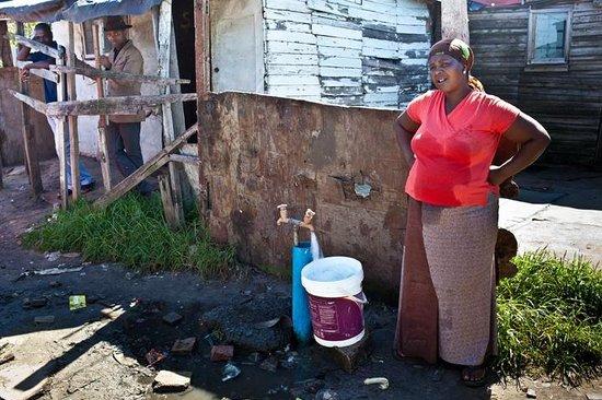Mowbray, South Africa: Woman in Langa