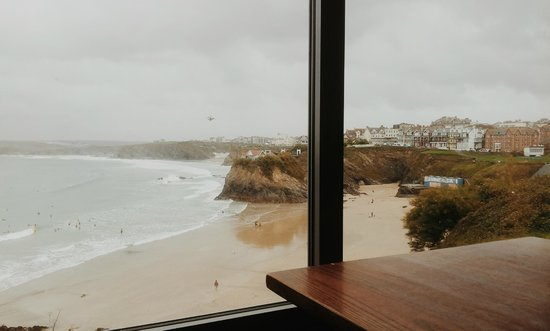 St. Christopher's Inn Newquay: View from the bar