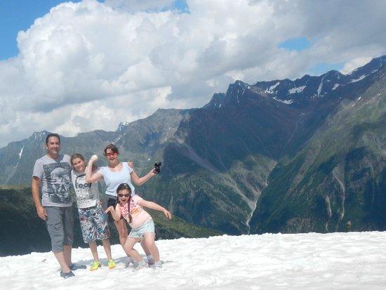 Hotel Garni Das Zentrum : We eventually hit the snow line !