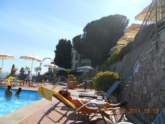 La piscina foto van grand hotel san pietro taormina tripadvisor - Kamer timeo ...