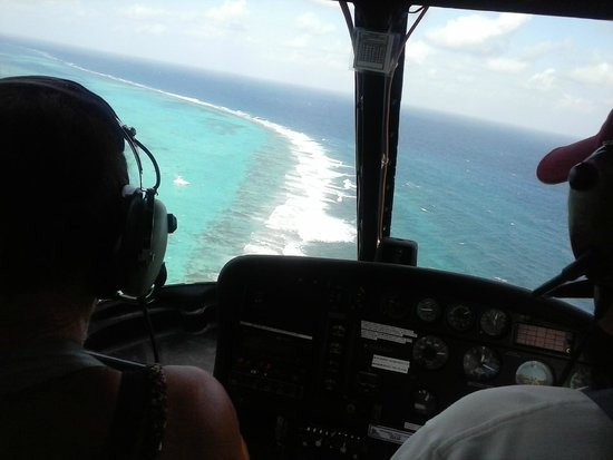 Cayman Islands Helicopters: 7mileBeach