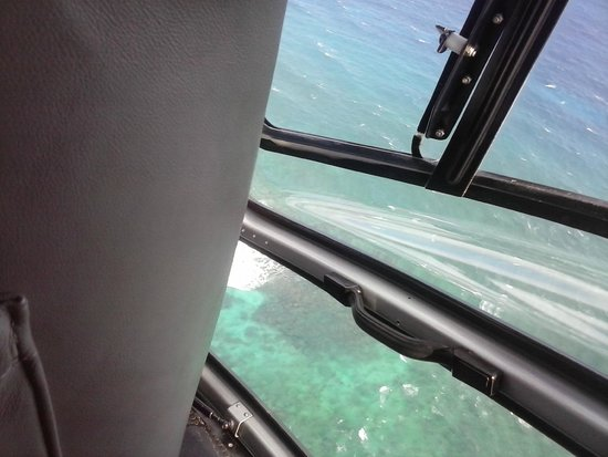 Cayman Islands Helicopters: coole Kurve