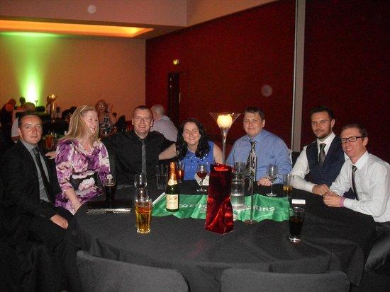 Radisson Blu Hotel, Glasgow : Enjoying the night