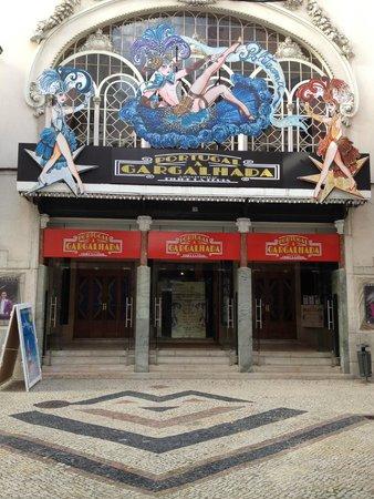 Teatro Politeama: Entrada