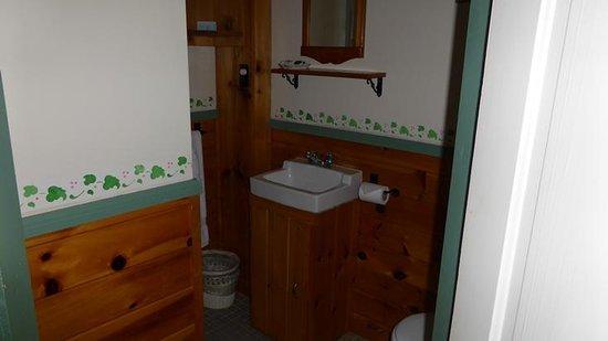 The Crocker House Country Inn : Room 6 bathroom