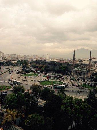 Hilton Kayseri: oda manzarası