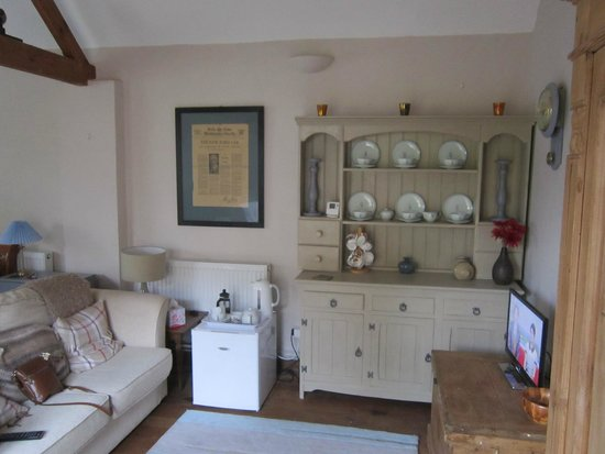 Mulleys Cottage: lounge area