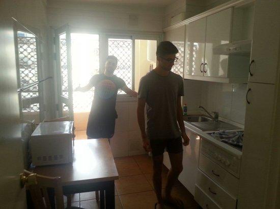 Apartamentos Oro Blanco : Cucina