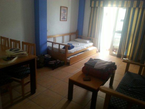 Apartamentos Oro Blanco : salotto
