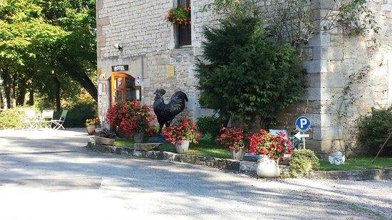 Le Moulin de Bourgchâteau : L'entrée
