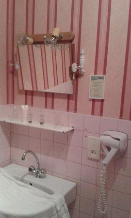 La Longue Vue : salle de bains avec douche