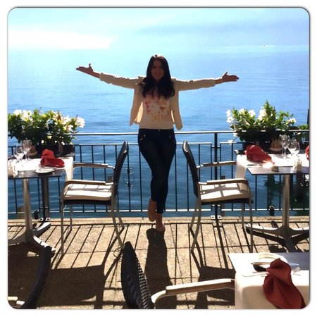 Zee Restaurant: Die Traumhafte Terrasse und Aussicht :)