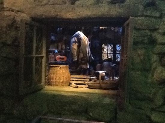 Hagrid 39 s house picture of warner bros studio tour What house was hagrid in
