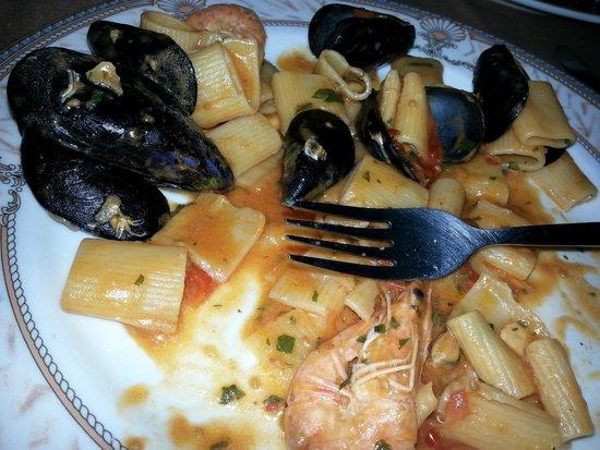 Giugliano in Campania, Italia: pasta molla !!!!